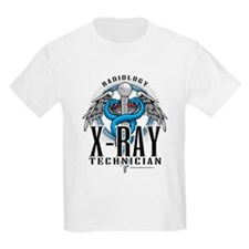 X-Ray Tech Caduceus Blue T-Shirt
