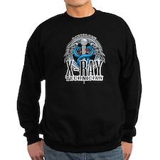 X-Ray Tech Caduceus Blue Sweatshirt
