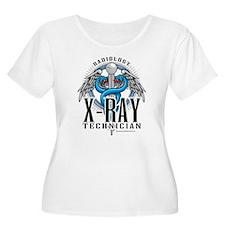 X-Ray Tech Caduceus Blue T-Shirt