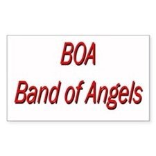 BOA Rectangle Decal