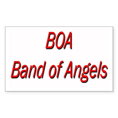 BOA Rectangle Sticker