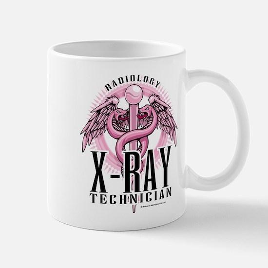X-Ray Tech Caduceus Pink Mug