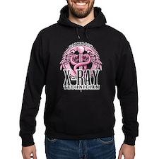 X-Ray Tech Caduceus Pink Hoodie