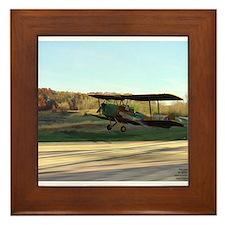 Tiger Moth Framed Tile
