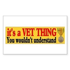 ITS A VET THING Decal