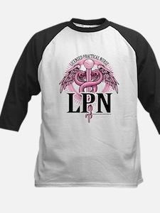 LPN Caduceus Pink Tee