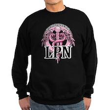 LPN Caduceus Pink Jumper Sweater