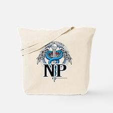 Nurse Practitioner Caduceus B Tote Bag