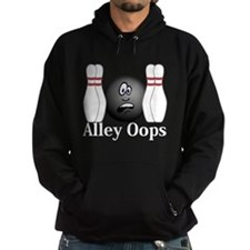 Alley Oops Logo 4 Hoodie Design Front Cente