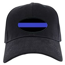 Police Officer Thin Blue Line Baseball Hat