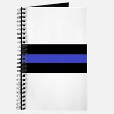 Police Officer Thin Blue Line Journal