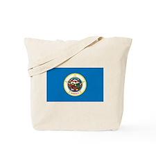 Minnesota State Flag Tote Bag
