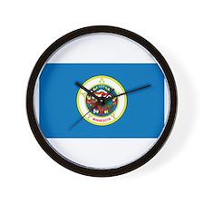 Minnesota State Flag Wall Clock
