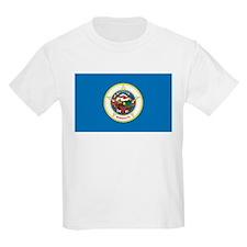Minnesota State Flag Kids T-Shirt