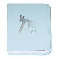 Blue Fox Infant Blanket