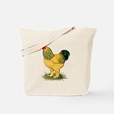 Brahma Buff Rooster Tote Bag