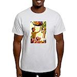 Frank Macintosh Fruit Basket Ash Grey T-Shirt