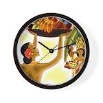 Frank Macintosh Fruit Basket Wall Clock