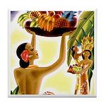 Frank Macintosh Fruit Basket Tile Coaster