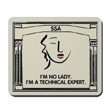 I'm No Lady <BR>I'm A Technical Expert