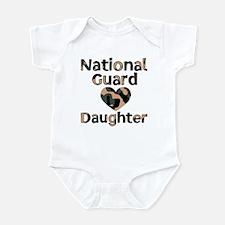 NG Daughter Heart Camo Infant Creeper