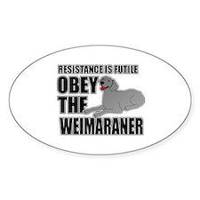 Weimaraner Decal