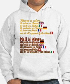 Heaven & Hell Jumper Hoody