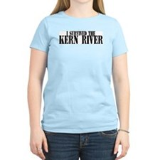I survived the Kern River Women's Pink T-Shirt