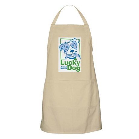 Lucky Dog Puppy Apron
