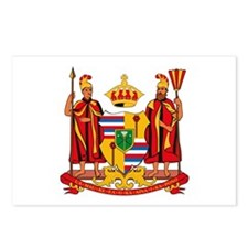 Hawaii Coat of Arms Postcards (Package of 8)