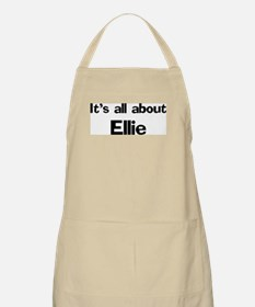 It's all about Ellie BBQ Apron