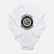 Student Pilot Long Sleeve Infant Bodysuit