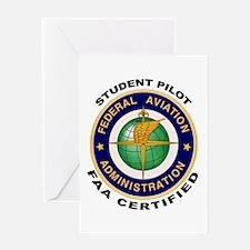 Student Pilot Greeting Card