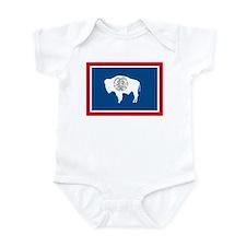 Wyoming Flag Infant Creeper