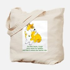 Cute Pembroke welsh corgis Tote Bag