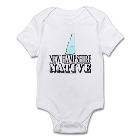 New Hampshire native Infant Bodysuit
