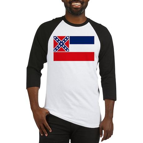 Mississippi Flag Baseball Jersey