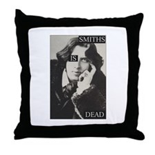 Smiths is Dead Throw Pillow