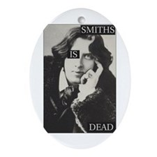 Smiths is Dead Ornament (Oval)