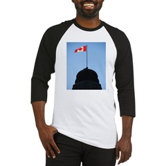 Canadian Flag Baseball Jersey