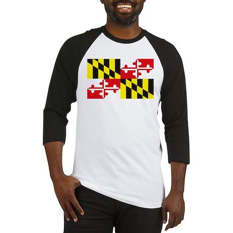 Maryland Flag Baseball Jersey