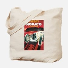 Monaco Grand Prix 1930 Tote Bag
