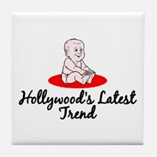 Hollywood's Latest Trend Tile Coaster