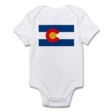 Colorado Flag Infant Creeper