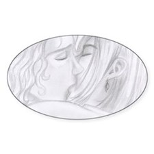 Kiss Oval Decal
