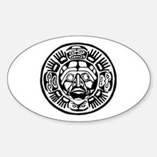 Aztec Sticker (Oval)