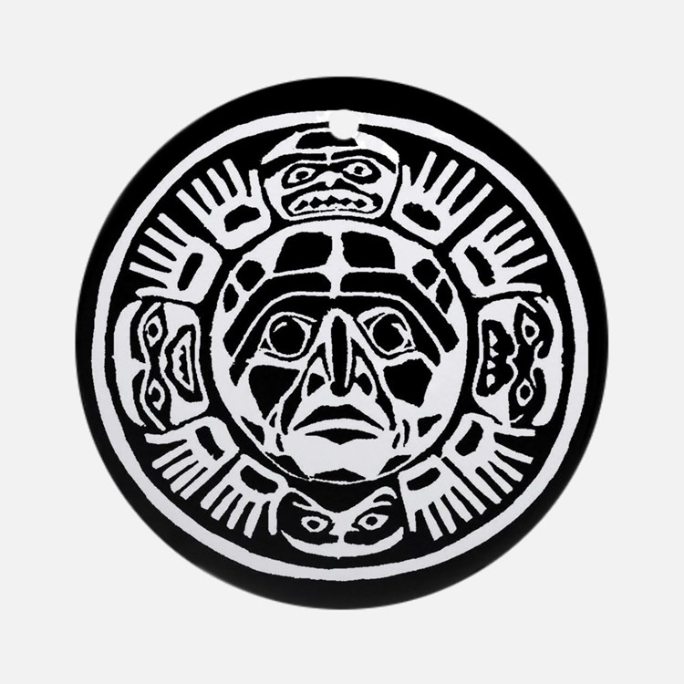 Aztec Ornament (Round)
