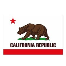California Flag Postcards (Package of 8)