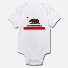 California Flag Infant Creeper