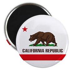 """California Flag 2.25"""" Magnet (10 pack)"""